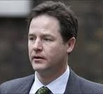 Nick Clegg after the AV results were published